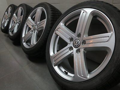 AU1783.68 • Buy 18 Inch Winter Tyres VW Golf VI 6 VII 7 5G0601025BK Cadiz Design R-Line
