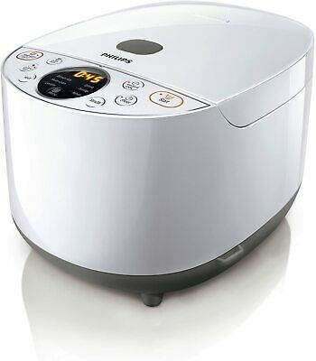 AU120 • Buy NEW Philips HD4514 Rice Cooker/24h Timer 4L, Grain Master/Multi Cook (RRP: $170)