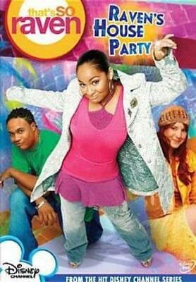 THAT'S SO RAVEN: RAVEN'S HOUSE PARTY (Region 1 DVD,US Import,sealed.) • 11.19£