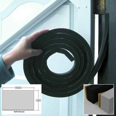 £4.89 • Buy Stormguard Extra Thick 11mm And 19mm Wide Rubber Foam Draught Excluder 3053mm
