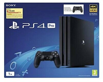 AU760 • Buy Ps4 Pro With Two Controllers And With 6 Games All In Good Condition