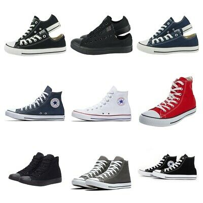 Converse Mens Womens Trainers Low High Tops Chuck Taylor All Star Casual Shoes  • 34.99£