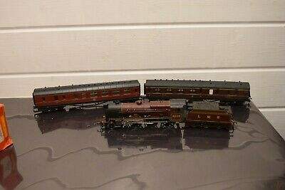 Hornby R357 LMS Crimson Patriot Class Loco 5500 Power Tender Fully Working • 80£