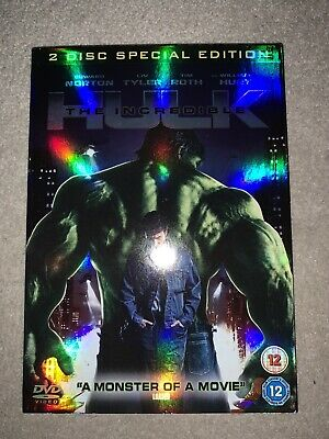 The Incredible Hulk 2 Disc Special Edition • 0.99£