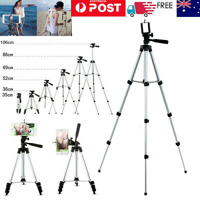 AU13.99 • Buy Adjustable Camera Tripod Mount Stand Holder For IPhone 12 Mini 11 Pro XS MAX