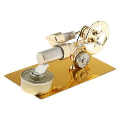 Golden Sterling Engine Model Physics Science Toy Props Gifts For Children • 23.26£