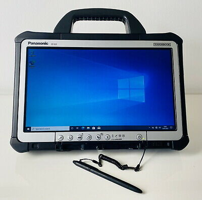 Panasonic CF-D1 Toughbook Mk 2 Diagnostics, Xentry Windows 7 Or 10 Pro • 249.99£