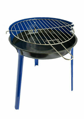 GRILL CHEF Patio BBQ Round Chrome-Plated Grill BRAND NEW | FAST DELIVERY • 19.99£