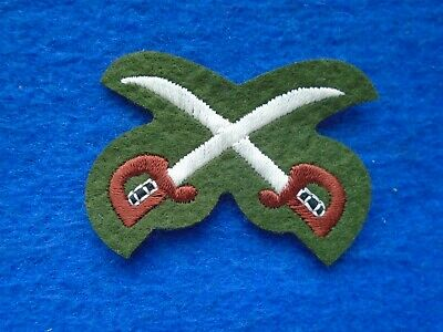 1 X British Military Physical Training Instructor Woven Trade Arm Badge • 6£