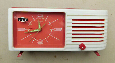 SEIKO MUSICAL New Old Stock Mechanical Wind Up Retro Vintage Alarm Clock NOS • 0.99£