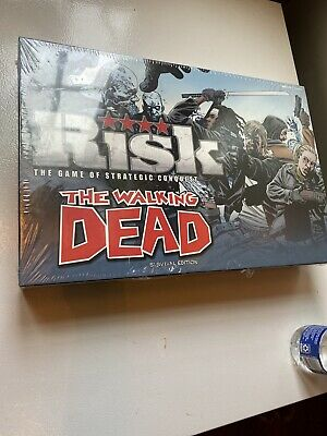 $22.22 • Buy The Walking Dead Risk: Survival Strategic Conquest Board Game USAopoly NEW