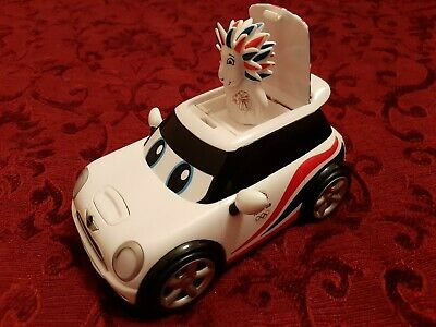 TEAM GB Mini Cooper Pride The Lion London Olympics 2012 Mascot Pop Up From Car • 6£
