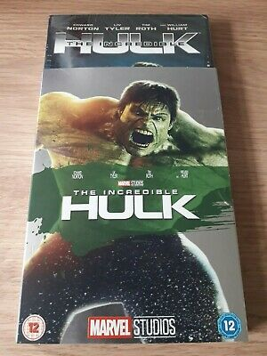 Marvel Phase 1 The Incredible Hulk DVD Sealed With O-RING Slipcover/sleeve Rare • 16.97£