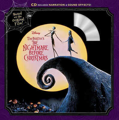 Tim Burton's The Nightmare Before Christmas: Read-Along Story Book And CD.  • 6.37£
