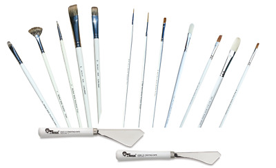 Bob Ross Oil Floral And Wildlife Painting Brushes Knife - Full Range Available • 5.25£