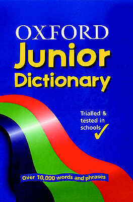 OXFORD JUNIOR DICTIONARY,  , Good, FAST Delivery • 5.99£