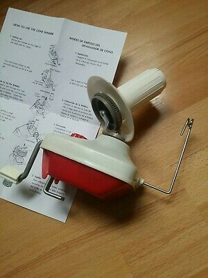 EMPISAL KNITMASTER YARN, WOOL WINDER With Hat For Knitting Crocheting Machines • 17£