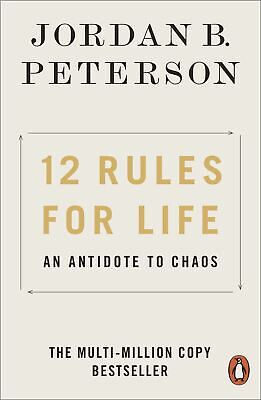 AU16.52 • Buy 12 Rules For Life: An Antidote To Chaos By Jordan B. Peterson