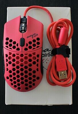 $349.90 • Buy Finalmouse Air58 Ninja - Cherry Blossom Red W/ Hyperglides