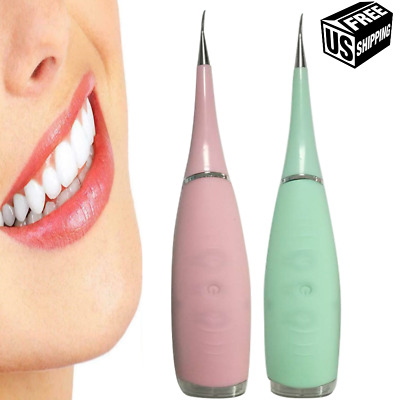 $23.99 • Buy Electric Ultrasonic Dental Scaler Portable Tooth Cleaner Stain Tool Whiten Teeth