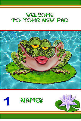 FREE P/P - NEW HOME Card - (choice Of Designs)  - A5 Personalised  • 3.50£