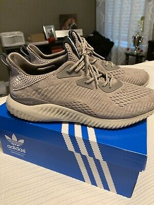 $50 • Buy Adidas Alpha Bounce Boost Size 11 Ultra Bape 1.0 Cream OG Wool Grey NMD