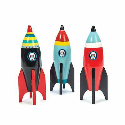 Le Toy Van Space Rocket - Official UK Stock - Ships Fast • 7.95£