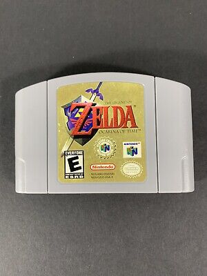 $59.99 • Buy Legend Of Zelda Ocarina Of Time | Nintendo 64 N64 | Cleaned / Tested / Authentic
