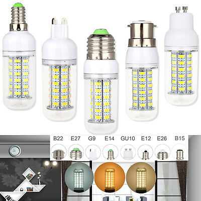 AU3.05 • Buy  Led Bulbs Daylight E27 E26 B22 E14 G9 5730 SMD Corn Light Bulb Save Energy Lamp