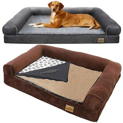 AU73.94 • Buy Heavy Duty Waterproof Pet Dog Bed Sofa Couch Cushion Lounger W/ Removable Cover