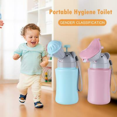 Portable Hygiene Toilet Urinal Boys Girls Pot Car Travel Anti-leakage Potty • 7.16£