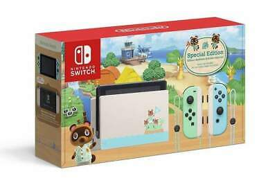 AU647.99 • Buy [Au Stock] Nintendo Switch ANIMAL CROSSING: New Horizons Special Edition Console