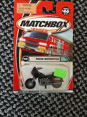 Matchbox USA 2001 Super Fast Series #46 Police Motorcycle  • 2.50£