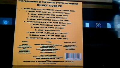 The Presidents Of The United States Of America Munky River Rare Nr Mint 12 Tk Ep • 19.99£