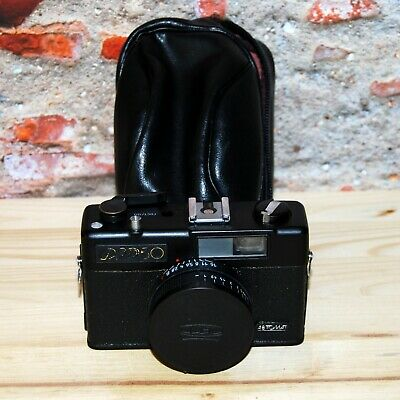 FED 50 Vintage Old Soviet Scale Film Camera USSR  In A Case, Industar-81 1980s • 16£