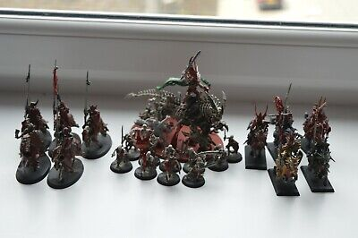 Warhammer - Undead (Big Mounted Leader And 10 Horse Men. • 20£