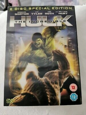 The Incredible Hulk 2 Disc Special Edition DVD FILM MOVIE • 1.50£