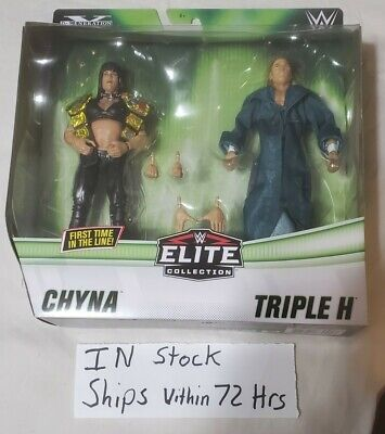 $ CDN64.70 • Buy New WWE Elite 2 Pack Triple H And Chyna Figures DX HHH WWF MIB IN HAND IN STOCK