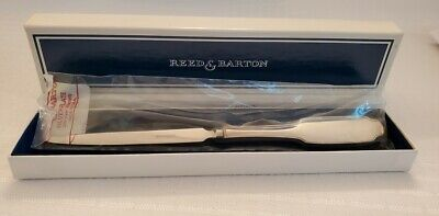 £21.58 • Buy Reed & Barton Silverplated Jefferson Letter Opener - 8.5 L. - Engravable Handle