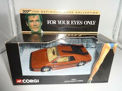 $ CDN24.07 • Buy Corgi 1:36 James Bond 007  For Your Eyes Only  Lotus Esprit Turbo - MIB