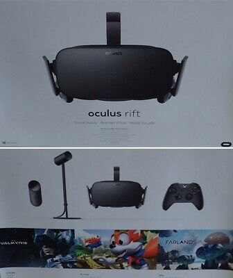 AU152.50 • Buy Oculus Rift VR Headset - With Xbox Controller, Virtual Reality Headset With Box