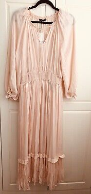 $11.30 • Buy Gorgeous Summer Zara Dress New With Tags Size L