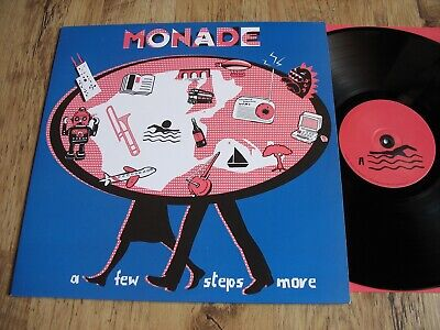 Monade, A Few Steps More, Uk Too Pure Lp, Laetitia Sadier, Stereolab, Excellent • 2.49£