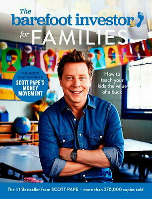 AU21.25 • Buy BAREFOOT INVESTOR FOR FAMILIES  (2020) By Scott Pape BRAND NEW On Hand In AUS