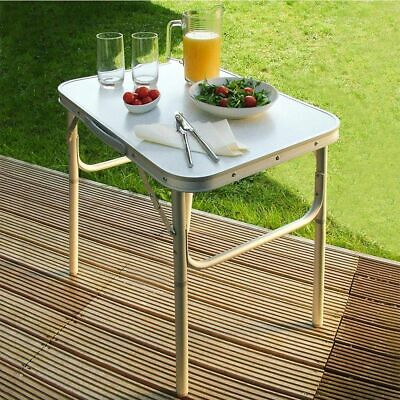 Small Folding Table Lightweight Camping Picnic Kitchen Dining Portable Outdoor • 15.99£