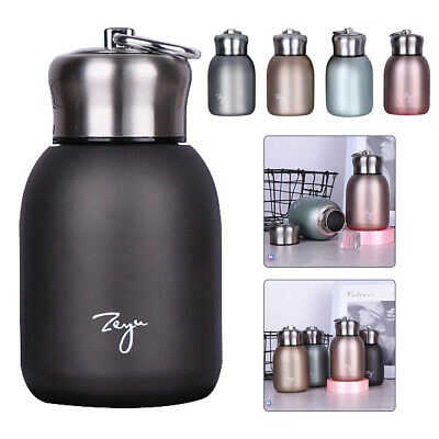 AU15.86 • Buy Small Lovely Stainless Steel Vacuum Flask Thermos Travel Drink Mug Coffee Cups