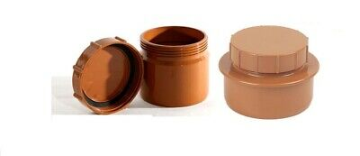 Drainage End Cap For 110mm Underground Pipe Fittings • 29.99£