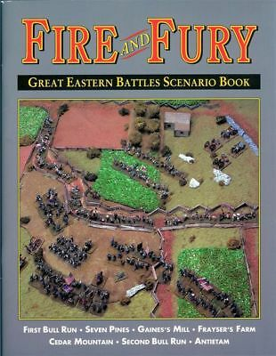 AU60.96 • Buy Fire And Fury Great Eastern Battles Scenario Book - Wargames Rules - New