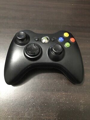 AU38 • Buy Xbox 360 Wireless Controller Black Genuine With Battery Cover