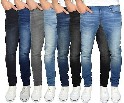 Duck & Cover Men's Straight Leg Slim Fit Stretch Distressed Maylead Jeans • 24.99£
